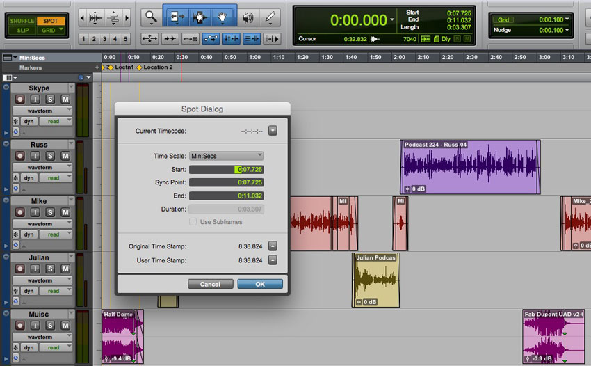 How Can You Automate The Spot Process Onto The Timeline In Pro Tools?