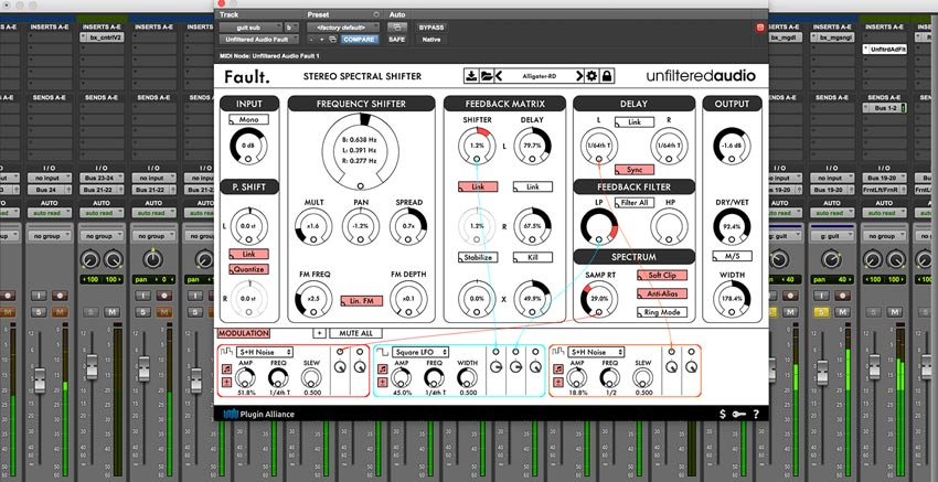 Plugin Alliance Unfilter Audio Fault Plug-in Now Available