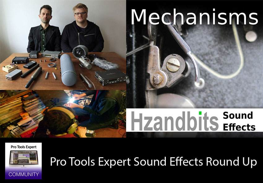 Sunday Sound Effects Round Up - Hzandbits, A SoundEffect