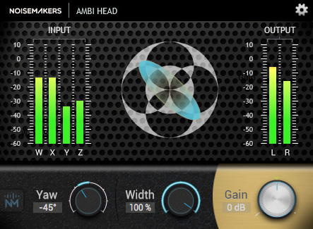 Ambi Head B Format Ambisonics To Binaural Plug-in Now Available