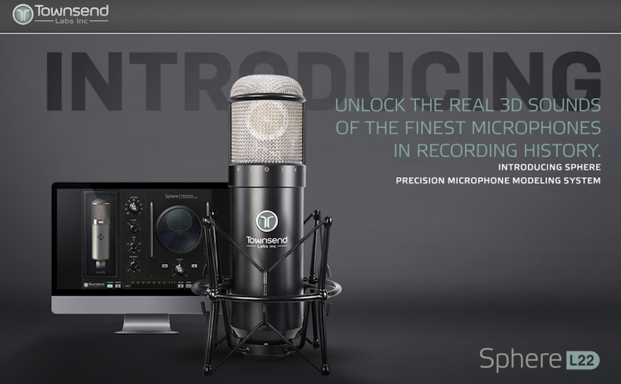 Townsend Labs Announce Pricing For Sphere L22 Microphone Modeling System