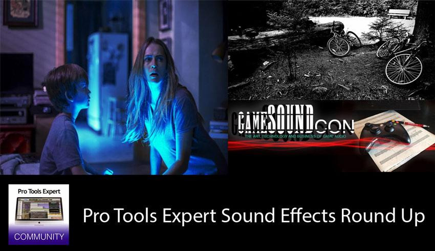 Sunday Sound Effects Round Up - RZ Post, A Sound Effect, GameSoundCon