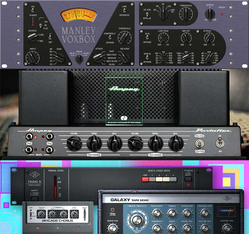 UAD v8.7 Software Released With Manley VOXBOX Channel Strip, Ampeg B-15N Bass Amp Plugins & Classic FXs Bundle