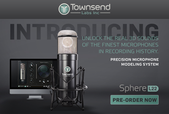 Demand For Townsend Labs' Sphere 3D Microphone Through The Roof
