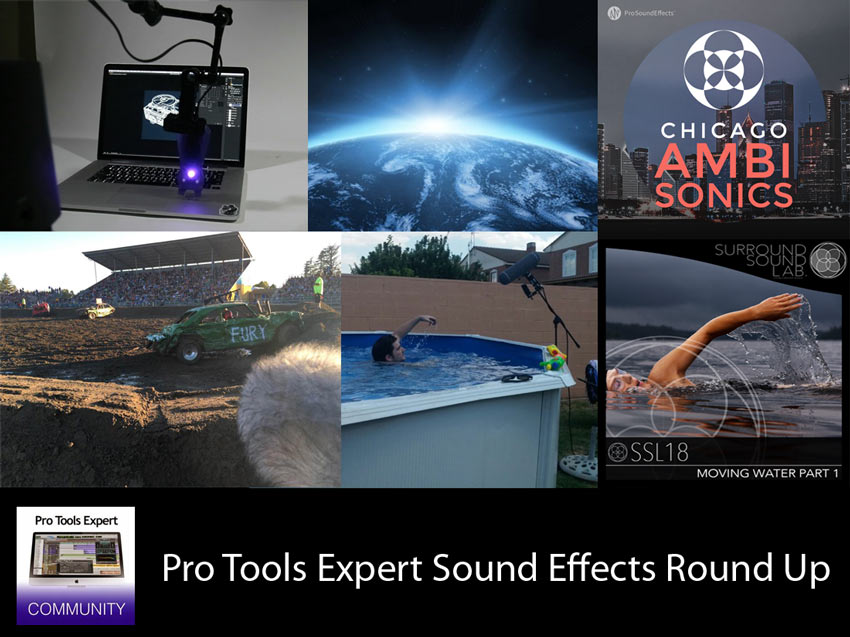 Sunday Sound Effects Round Up - A Sound Effect, HISSandaROAR, Tim Nielsen, Surround Sound Labs, Pro Sound Effects