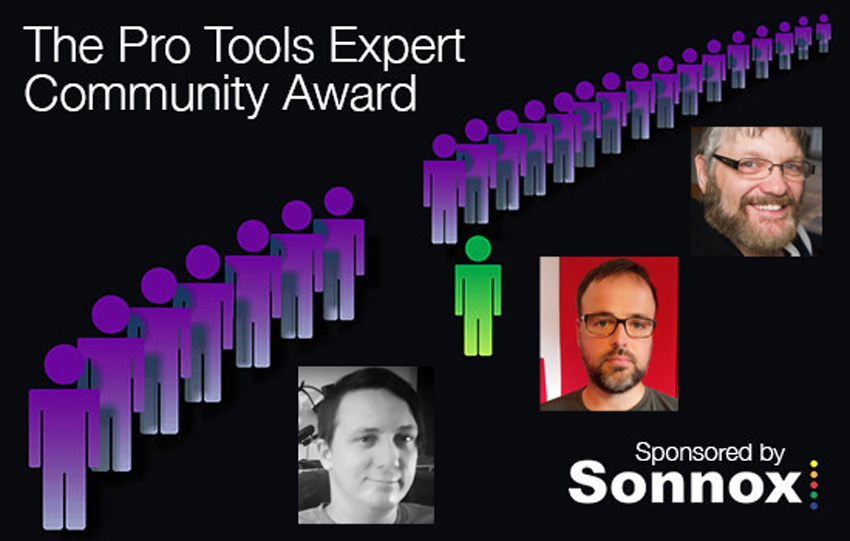 Sonnox Community Award - Winners For April, May & June 2016