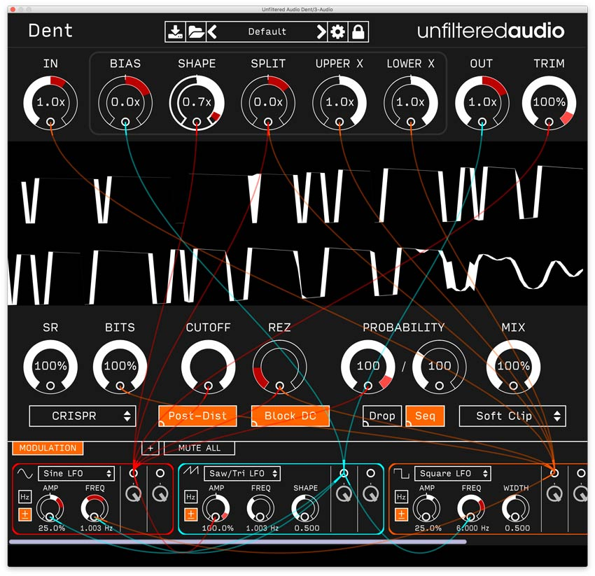 Plugin Alliance Follow Indent With Dent 'A Radical Distortion Plugin'