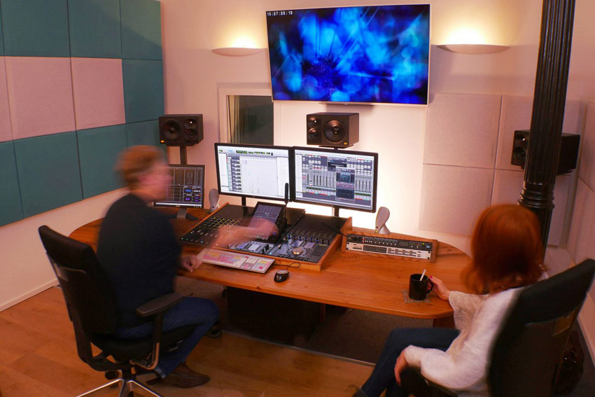422 In Glasgow Bring 2 More Avid Pro Tools S6 Control Surfaces To Scotland