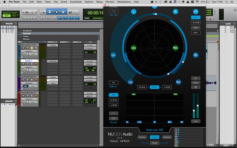 Nugen Halo Upmixer On Mac Book Pro 15 Inch