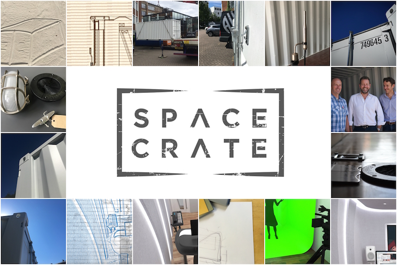 Spacecrate collage