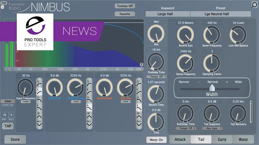 Exponential Audio Announce NIMBUS