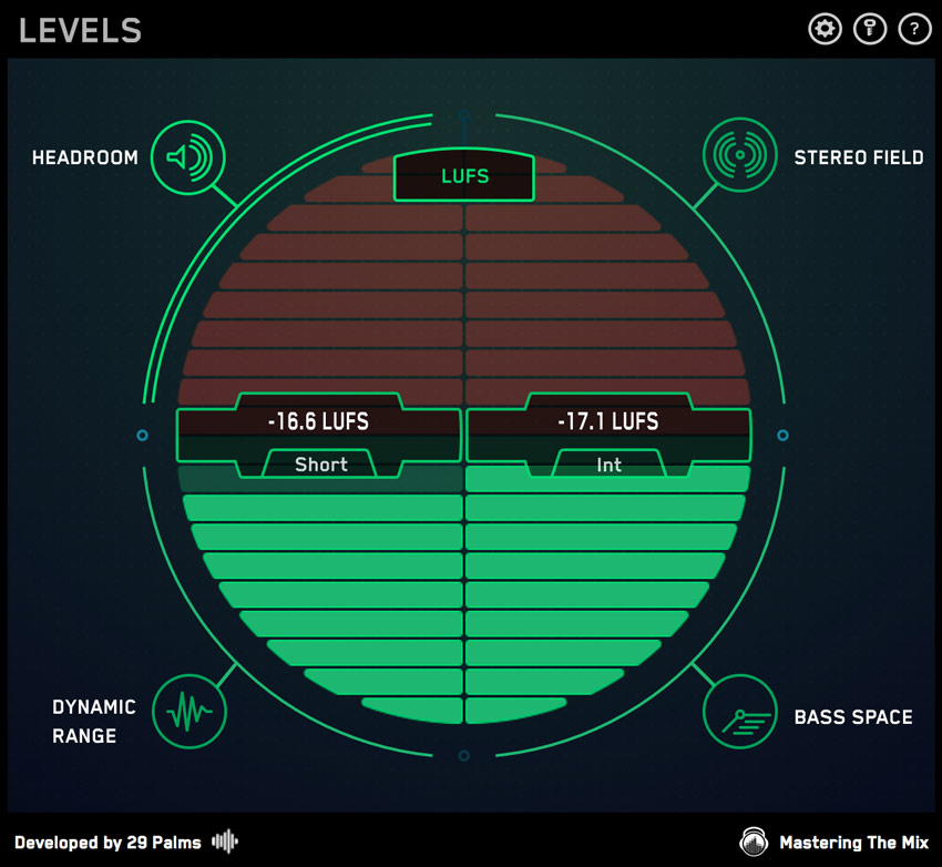 LUFS Meter In LEVELS