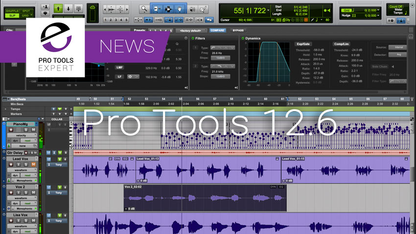 Pro Tools 12.6 - Avid Unbundle Pro Tools HD Software And Add New Features