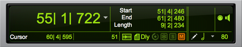 Pro Tools Task Manager Activity and Track Freeze icons