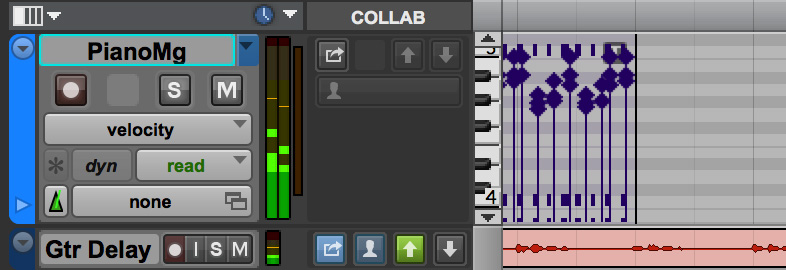 Pro Tools 12.6 Multiple Playlist Icon