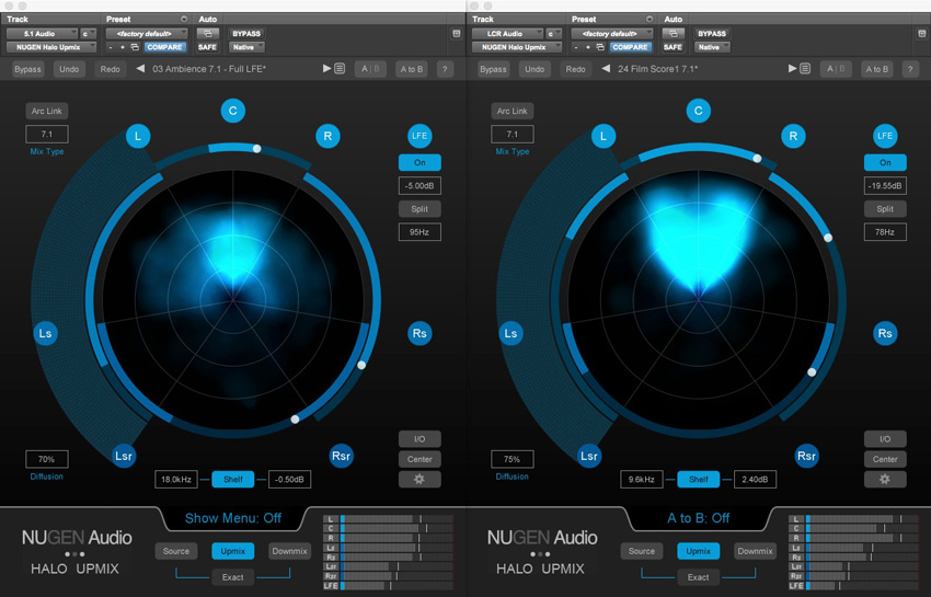 Nugen Audio Halo Upmix Plugin Update