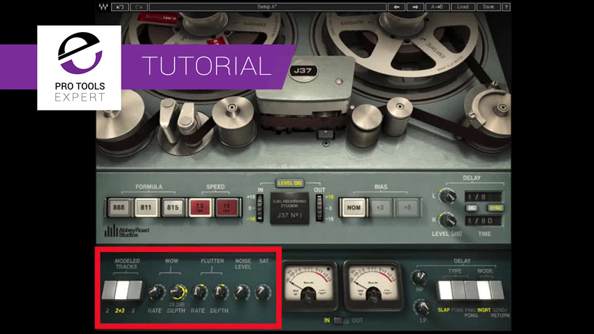 Video - Using The Waves Abbey Road J37 Tape Emulation To Add Width