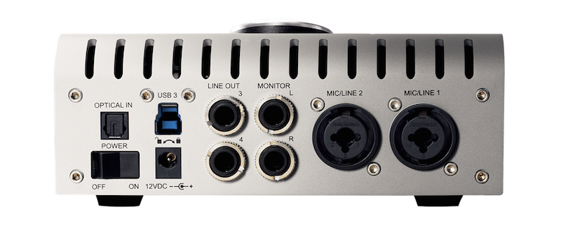 UAD Apollo Twin USB Back Panel