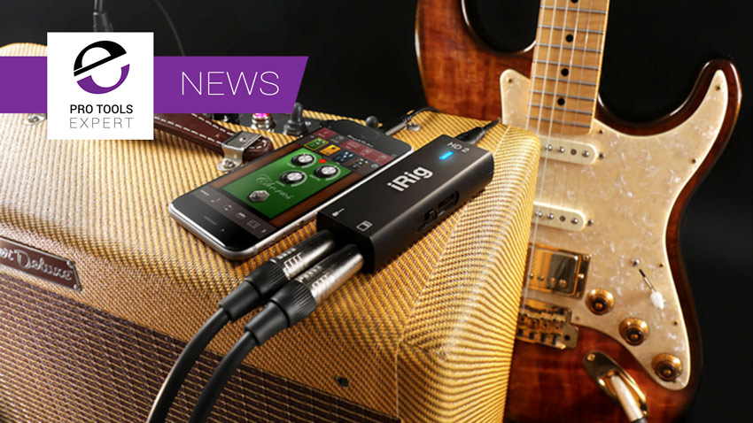 IK Multimedia Announce iRig HD 2 Guitar Interface