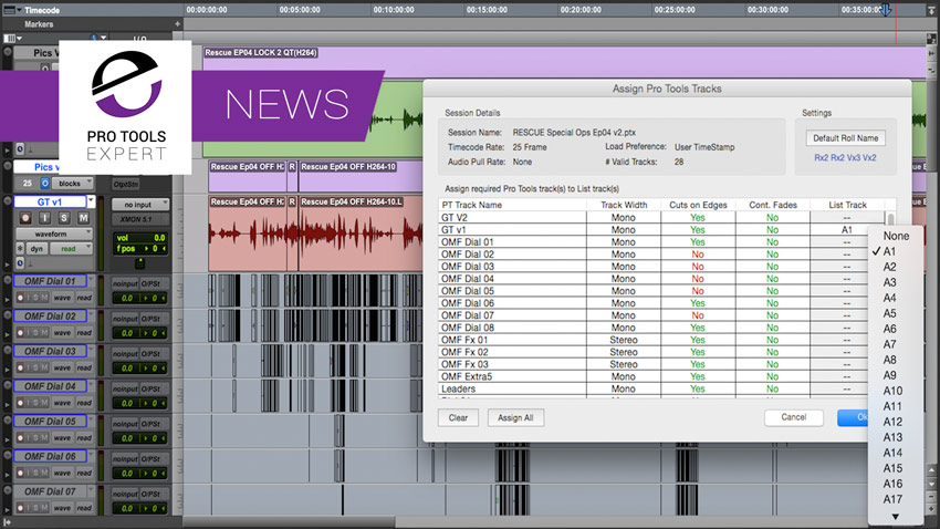 Sounds In Sync Release EdiLoad v3.3.2 Conforming And Re-conforming Software
