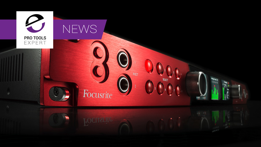 Focusrite Announce Red 8Pre Interface