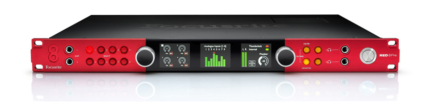 Focusrite Red 8Pre front