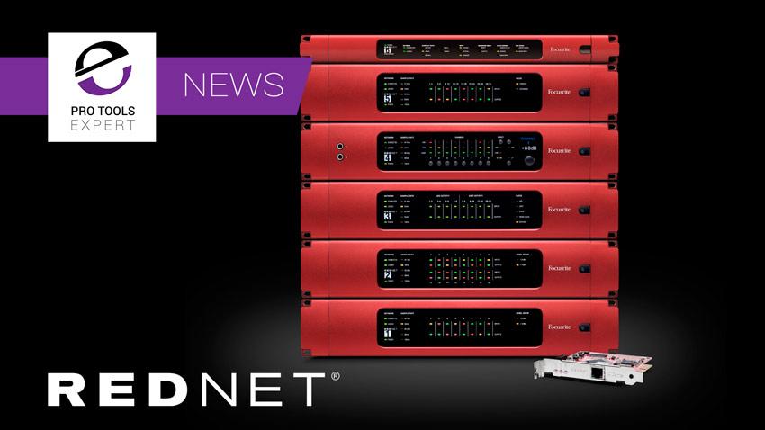 Focusrite Announce RedNet Control 2.0