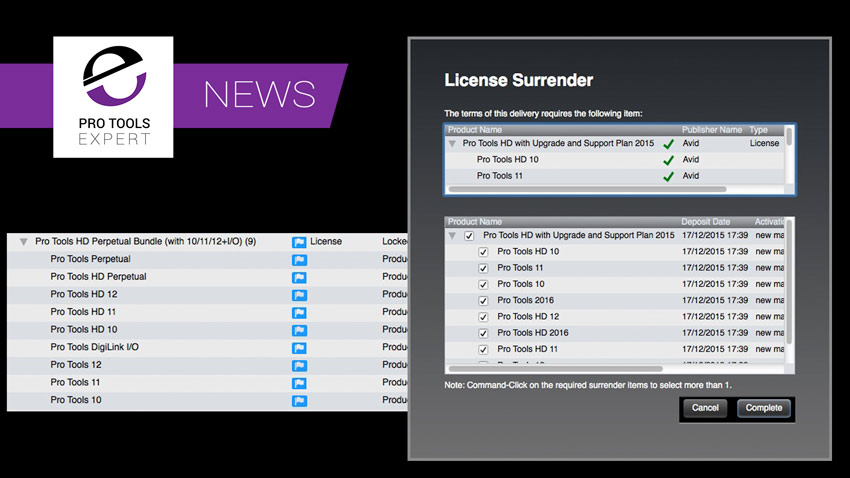 Pro Tools 12.6 Licenses Starting To Appear In iLok Accounts