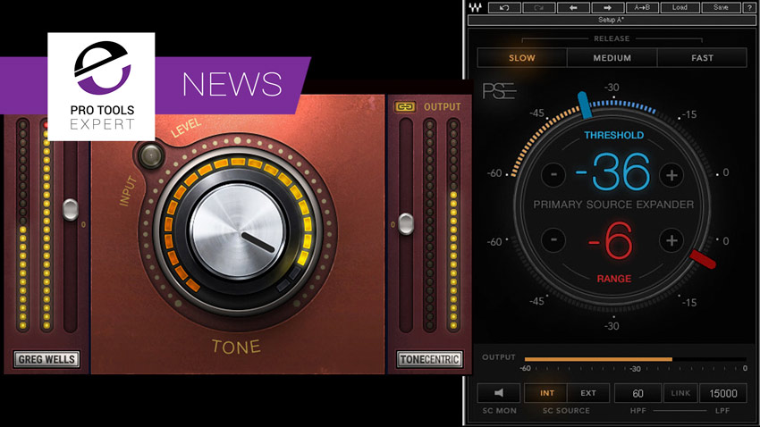 Waves Audio Introduces Primary Source Expander And Greg Wells Tone Centric Plugins