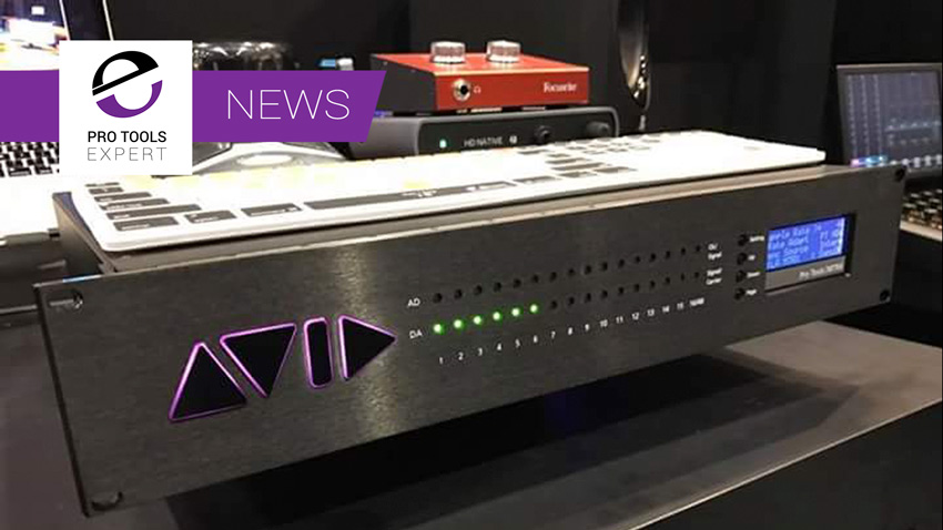 Pro Tools MTRX - Avid Show New HD Interface At AES 2016 - Image from Facebook