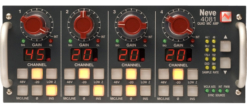 Win A Neve 4081 Four Channel Remote Control Mic Pre