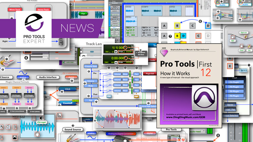 Graphically Enhanced Manuals Release Pro Tools First Manual