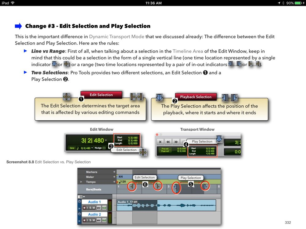 Graphically-Enhanced-Manual-Pro-Tools-First Play versus Edit Selection