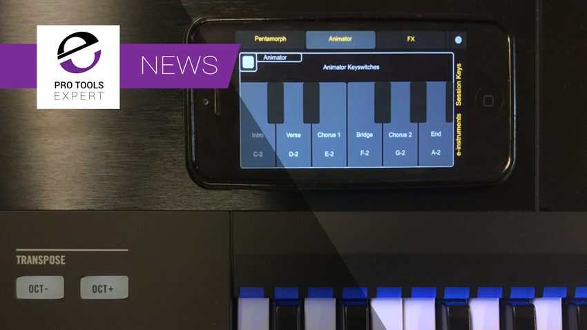 e-instruments Introduce Free Wireless Control Of Session Keys From Mobile Devices