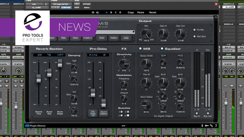 Plugin Alliance Release New Brainworx bx_rooMS Reverb Plugin