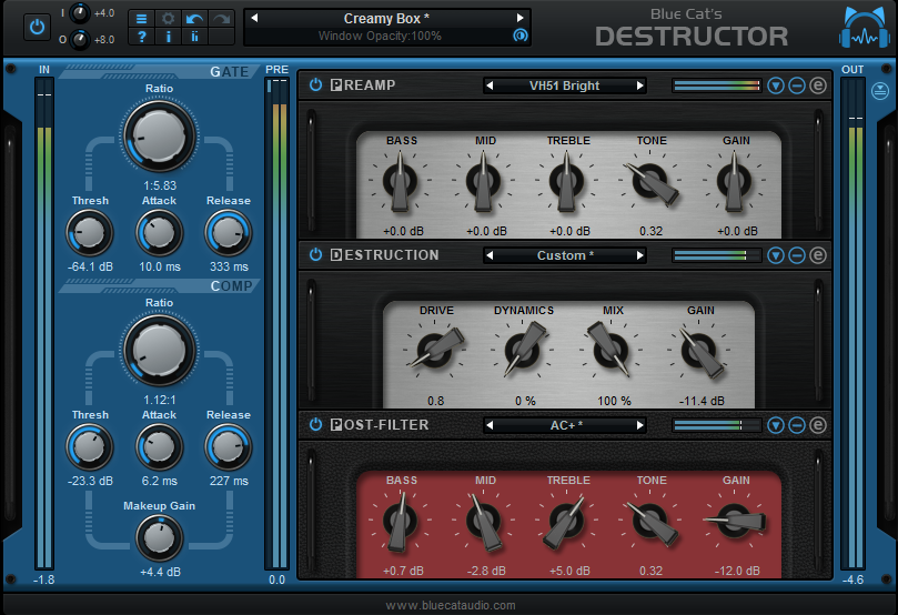 blue cat audio destructor plugin
