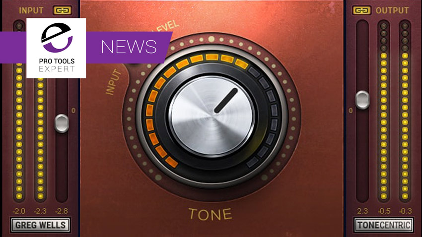 Waves Release Greg Wells ToneCentric Plugin