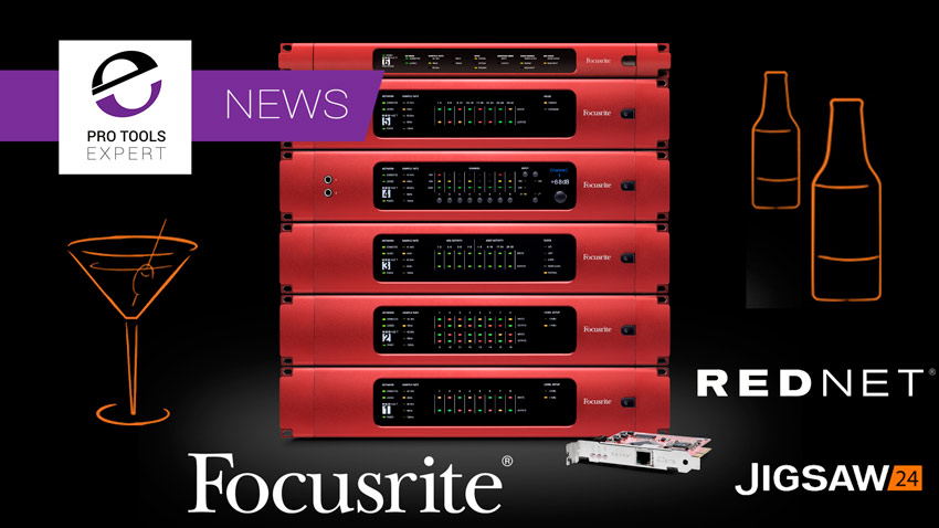 Focusrite To Hold RedNet Event At Jigsaw24 In London