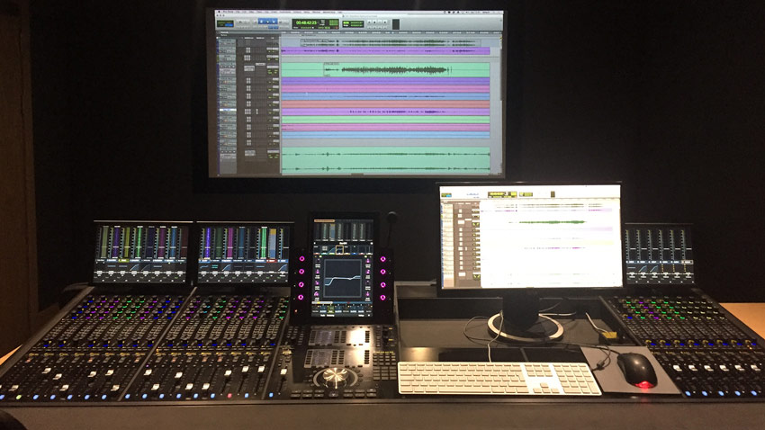 Mixing using the Avid S6