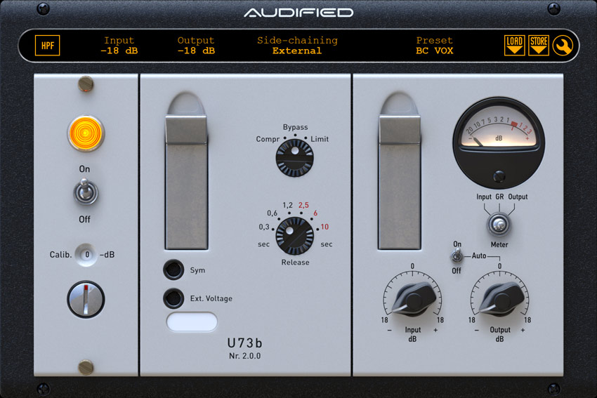 Audified U73b Compressor Limiter Plugin