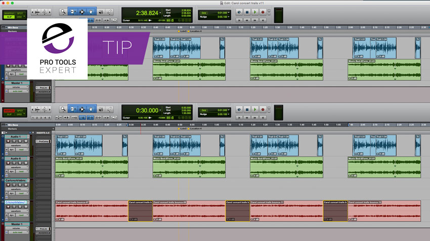 Community Tip - Handling Multiple Versions Of Radio Spots In Pro Tools
