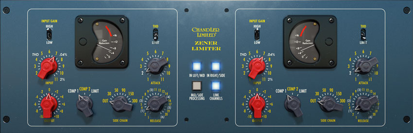 Chandler Limited Zener Limiter plug-in For UAD-2 And Apollo Hardware