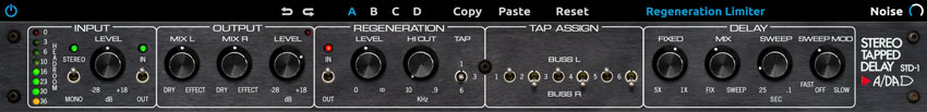 A/DA STD-1 Stereo Tapped Delay Plug-In - $199