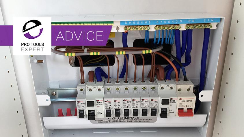 Home Studio Build Part 6 Electrics And Cabling Pro Tools