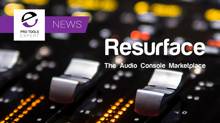 Resurface Audio Console Marketplace Open For Business