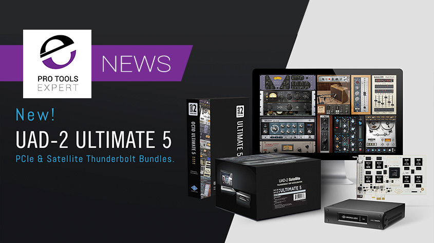New UAD-2 OCTO Ultimate 5 DSP Accelerator Bundles Released