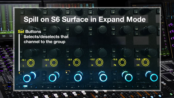 Spill on the Avid S6 Control Surface