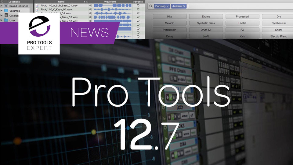 Avid Announce Pro Tools 12.7 With Version History And Tagging