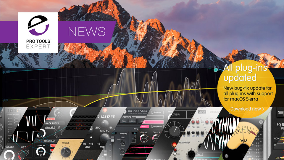 Plugin Alliance And FabFilter Announce Mac OS Sierra Compatibility