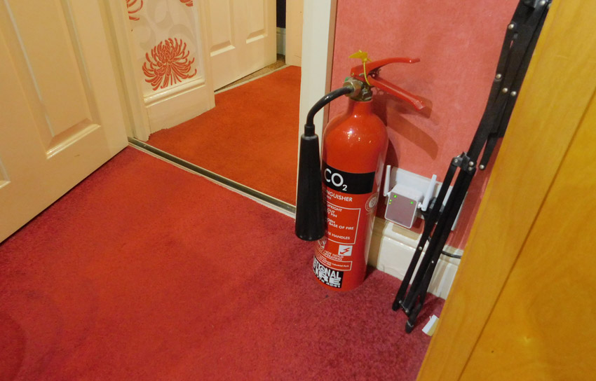 Mike's Fire Extinguisher